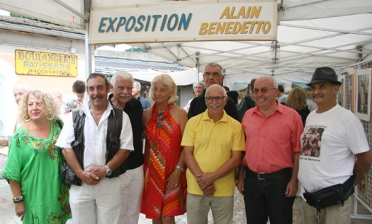 Vernissage d'Alain BENEDETTO